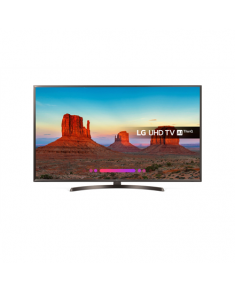 "LG 49UK6400PLF  49"" (123 cm), Smart TV, UHD 4K, 3840 x 2160 pixels, Wi-Fi, DVB-T2/C/S2, Black"