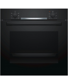 Bosch Oven HBA530BB0S Built-in, 71 L, Black, Eco Clean, A, Push pull buttons, Height 60 cm, Width 60 cm, Integrated timer, Electric