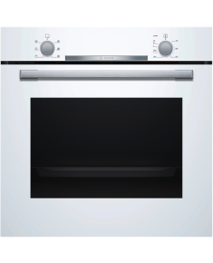 Bosch Oven HBA530BW0S Built-in, 71 L, White, Eco Clean, A, Push pull buttons, Height 60 cm, Width 60 cm, Integrated timer, Electric