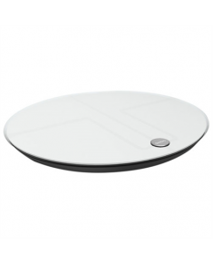 Qardio Base 2 Wireless Smart Scale and Body Analyzer - Arctic White