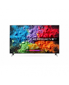 """LG 49SK8000PLB 49"""" (123 cm), Smart TV, Super UHD LED, 3840 x 2160 pixels, Wi-Fi, DVB-T2/C/S2, Dark metalic"""