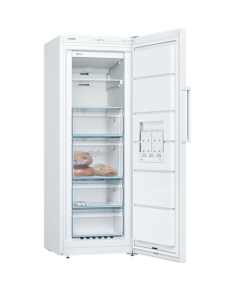 Bosch Freezer GSN29VW3P Upright, Height 161 cm, Total net capacity 200 L, A++, Freezer number of shelves/baskets 6, White, No Frost system, Free standing