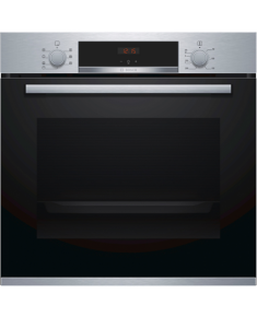 Bosch Oven HBA533BS0S Built-in, 71 L, Stainless steel, Eco Clean, A, Push pull buttons, Height 60 cm, Width 60 cm, Integrated timer, Electric