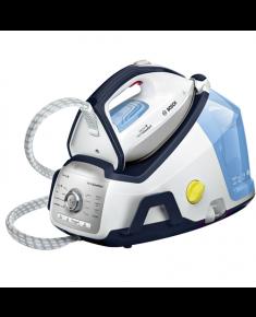 Bosch TDS8060 White/blue, 2400 W, 1.8 L, 7.2 bar, Auto power off, Vertical steam function, Calc-clean function