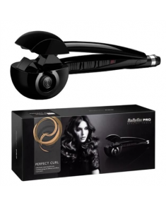 BABYLISS Pro Mira Curler 26665E Ceramic heating system, Temperature (min) 180 °C, Temperature (max) 230 °C, Number of heating levels 3, Black