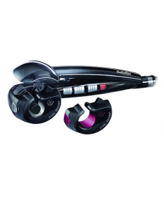 BABYLISS Curler C1300E Ceramic heating system, Ion conditioning, Barrel diameter 35 / 25 mm, Temperature (min) 190 °C, Temperature (max) 230 °C, Number of heating levels 2, Black