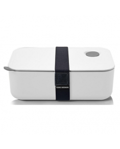 Yoko Design Lunch Box, White, Capacity 1 L, Yes