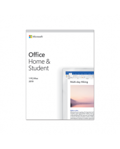 Microsoft 79G-05033 Office Home and Student 2019 Full packaged product (FPP), English, Medialess box