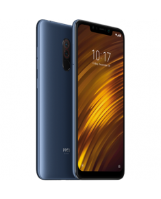 "Xiaomi Pocophone F1 Blue, 6.18 "", IPS LCD, 1080 x 2246 pixels, Qualcomm Snapdragon, 845, Internal RAM 6 GB, 128 GB, Dual SIM, Nano-SIM, 3G, 4G, Main camera Dual 12+5 MP, Secondary camera 20 MP, Android, 8.1, 4000 mAh"