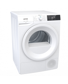 Gorenje Dryer machine DE82/G Heat pump, Condensation, 8 kg, Energy efficiency class A++, White, LED, Depth 62.5 cm, Display,