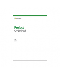 Microsoft 076-05785 Project Standard 2019 ESD, Multilingual