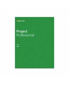 Microsoft H30-05756 Project Pro 2019 ESD, Multilingual