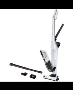 Bosch Vacuum cleaner BBH32551 Warranty 24 month(s), Battery warranty 24 month(s), Handstick 2in1, Polar white metallic, 0.4 L, Cordless, 25.2 V, 55 min