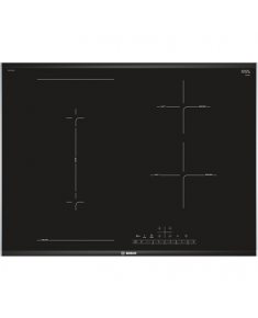 Bosch Hob PVS775FC1E Induction, Number of burners/cooking zones 4, Black, Display