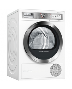 Bosch Dryer Mashine WTY87879SN Condensed, Sensitive dry, 9 kg, Energy efficiency class  A++, Self-cleaning, White, TFT, Depth 60 cm, Display,