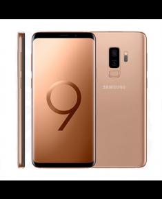 "Samsung G965F Galaxy S9+ Gold, 6.2 "", Super AMOLED, 1440 x 2960 pixels, Exynos, 9810, Internal RAM 6 GB, 64 GB, microSD, Dual SIM, 4G, Main camera Dual 12+12 MP, Secondary camera 8 MP, Android, 8.0, 3500 mAh"