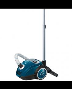 Bosch MoveOn Mini Vacuum cleaner BGL25MON4 Bagged, Laguna Blue, 600 W, 3.5 L, A, A, D, B, 80 dB,