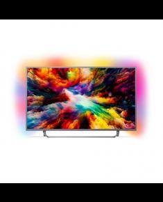 "Philips 65PUS7303/12 65"" (165 cm), Smart TV, UHD Ultra Slim LED, 3840 x 2160 pixels, Wi-Fi, DVB T/C/T2/S/S2, Silver"