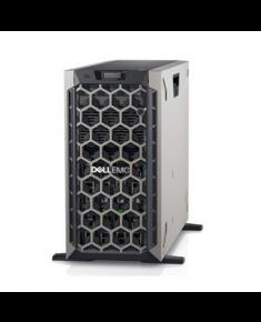 "Dell PowerEdge T440 Tower, Intel Xeon, Silver 4114, 2.2 GHz, 14 MB, 20T, 10C, RDIMM DDR4, 2666 MHz, No RAM, No HDD, Up to 8 x 3.5"", Hot-swap hard drive bays, PERC H730P, Dual, Hot-plug, Redundant, Power supply 750 W, 2x1GbE, iDRAC 9 Enterprise, No Rails, No OS, Warranty Basic Onsite 36 month(s)"