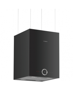 Bosch Hood DII31RV60 Cube, Width 37 cm, 510 m³/h, Black, 69 dB