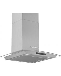 Bosch Hood Serie 4 DWA66DM50 Chimney, Width 60 cm, 600 m³/h, Stainless steel/ glass, Energy efficiency class A, 59 dB