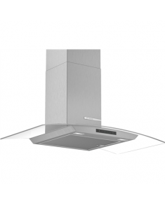Bosch Hood Serie 4 DWA96DM50 Chimney, Width 90 cm, 580 m³/h, Stainless steel/ glass, Energy efficiency class A, 61 dB