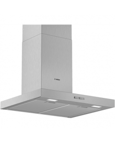 Bosch Hood Serie 2 DWB66BC50 Chimney, Width 60 cm, 590 m³/h, Stainless steel, Energy efficiency class A, 69 dB