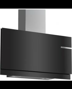 Bosch Hood Serie 6 DWF97KM60 Chimney, Width 90 cm, 730 m³/h, Black, Energy efficiency class A, 60 dB