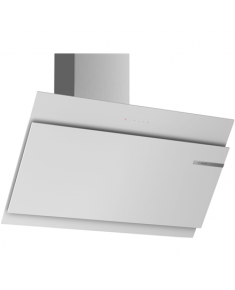 Bosch Hood Serie 6 DWK97JM20 Energy efficiency class A+, Wall mounted, Width 90 cm, TouchControl with Electronic display, White glass, LED