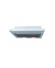 CATA Cooker hood TF-5060 EWH Mechanical, Width 60 cm, 380 m³/h, White, Energy efficiency class D, 60 dB, Telescopic