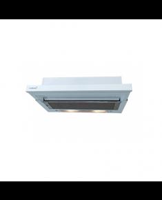 CATA Cooker hood TF-5060 EWH Mechanical, Width 60 cm, 380 m³/h, White, Energy efficiency class D, 60 dB, Telescopic