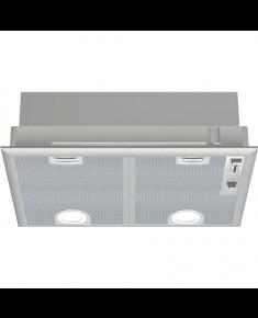 Bosch Hood Serie 4 DHL555BL Canopy, Width 50 cm, 590 m³/h, Silver, Energy efficiency class C, 56 dB