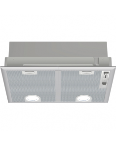 Bosch Hood Serie 4 DHL555BL Canopy, Energy efficiency class C, Width 50 cm, 590 m³/h, Mechanical control, LED, Silver