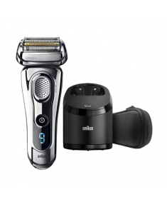 Braun Men's Electric Foil Shaver 9295cc Warranty 24 month(s), Wet use, Rechargeable, Charging time 1 h, Lithium Ion, Battery, Silver