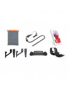 PGYTECH Accessories Set Combo for DJI MAVIC AIR (Standard pack: Landing Pad Pro for Drones/Remote Controller Clasp/Skin(UNF-CA3&UNA-D5)/Control Stick Protector/Landing Gear Extensions/Lens Hood)