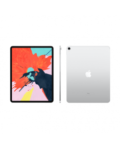 "Apple IPad Pro 2018 12.9 "", Silver, Liquid Retina display, 2732 x 2048 pixels, A12X Bionic chip with 64-bit architecture; Neural Engine; Embedded M12 coprocessor, 6 GB, 1000 GB, 4G, Wi-Fi, Rear camera, 12 MP, Bluetooth, 5.0, iOS, 12"