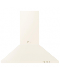 Candy Hood CCC 60BA Wall mounted, Width 60 cm, 423 m³/h, White, Energy efficiency class C, 70 dB