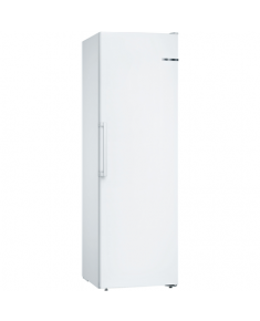 Bosch Freezer GSN36VW3P Upright, Height 161 cm, Total net capacity 242 L, A++, Freezer number of shelves/baskets 2 shelves, 4 drawers, White, No Frost system, Free standing