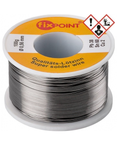 Fixpoint Solder; ø 0.56 mm, 100 g reel