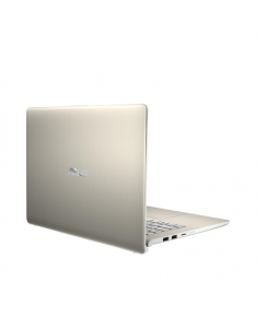 "Asus VivoBook S430FA-EB033T Icicle Gold, 14 "", FHD, 1920 x 1080 pixels, Matt, Intel Core i3, i3-8145U, 4 GB, DDR4, SSD 256 GB, Intel HD, Without ODD, Windows 10 Home, 802.11 ac, Bluetooth version 4.2, Keyboard language English, Keyboard backlit, Battery warranty 12 month(s)"