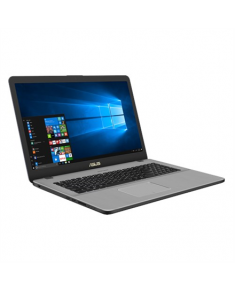 "Asus VivoBook Pro 17 N705FD-GC009T Star Grey, 17.3 "", FHD, 1920 x 1080 pixels, Matt, Intel Core i5, i5-8265U, 8 GB, DDR4, HDD 1000 GB, 5400 RPM, SSD 256 GB, NVIDIA GeForce GTX 1050, GDDR5, 4 GB, Without ODD, Windows 10 Home, 802.11 ac, Bluetooth version 4.2, Keyboard language English, Russian, Keyboard backlit, Battery warranty 12 month(s)"