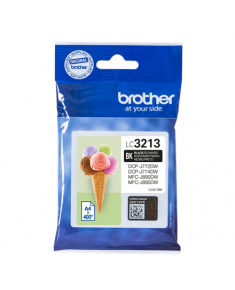 Brother LC3213BK Ink Cartridge, Black