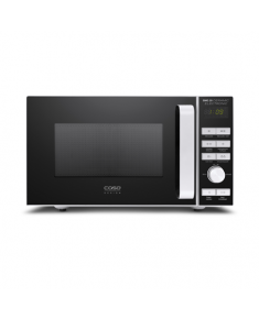 Caso BMG 20 Ceramic 03317 Microwave oven with grill, Grill, Intuitive semi-digital control, 800 W, Black/Silver, Defrost function