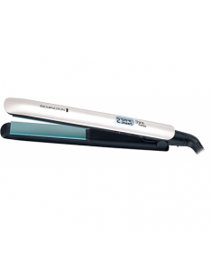 Remington Hair Straightener S8500 Shine Therapy Ceramic heating system, Display Yes, Temperature (max) 230 °C, Number of heating levels 9, Silver