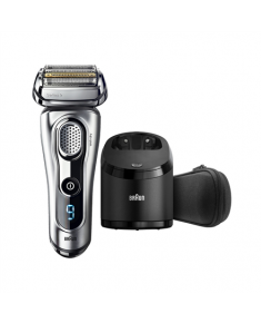 Braun Men's Electric Foil Shaver 9291 Series 9  Wet use, Rechargeable, Charging time 1 h, Li-Ion, Battery, Silver