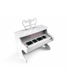 iDance My Piano 1000 10 W, Portable, Wireless connection, White, Bluetooth