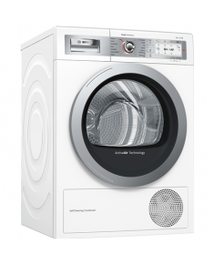 Bosch Dryer Mashine 	WTYH8789SN Condensed, Sensitive dry, 9 kg, Energy efficiency class  A++, Self-cleaning, White, TFT, Depth 60 cm, Display,
