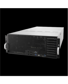 "Asus ESC8000 G4 Rack (4U), Intel Xeon processor Scalable family/ family with Omni-Path Architecture, RDIMM DDR4, 2666 MHz, No RAM, No HDD, Up to 8 x 2.5"", Hot-swap hard drive bays, 80 PLUS Platinum, Power supply 2x1600 W, Intel I350-AM2, ACC, Warranty ARS 36 month(s)"
