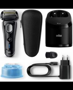Braun 9-9250cc Series 9 Electric Shaver, Wet/Dry, Cordless, Operating time 50 min, Black