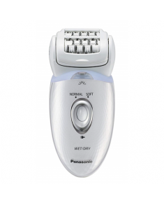 Panasonic 4 in 1 Dual Disc Epilator ES-ED53-W503 Number of speeds 2, Number of intensity levels 2, Operating time 30 min, White